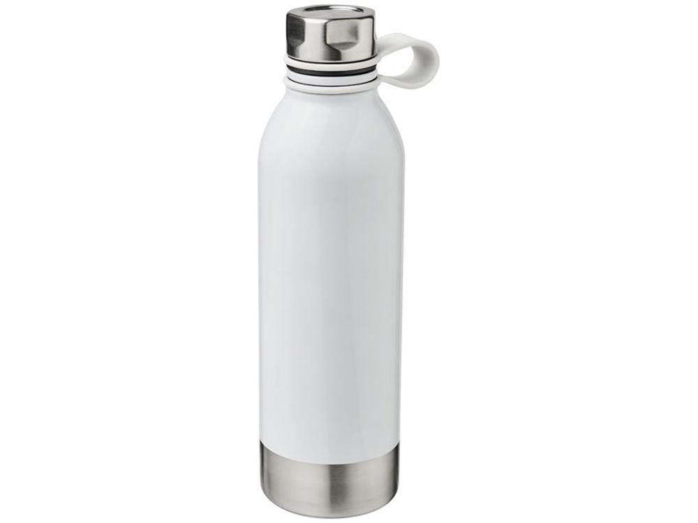 Спортивная бутылка из нержавеющей стали Perth объемом 740мл, белый