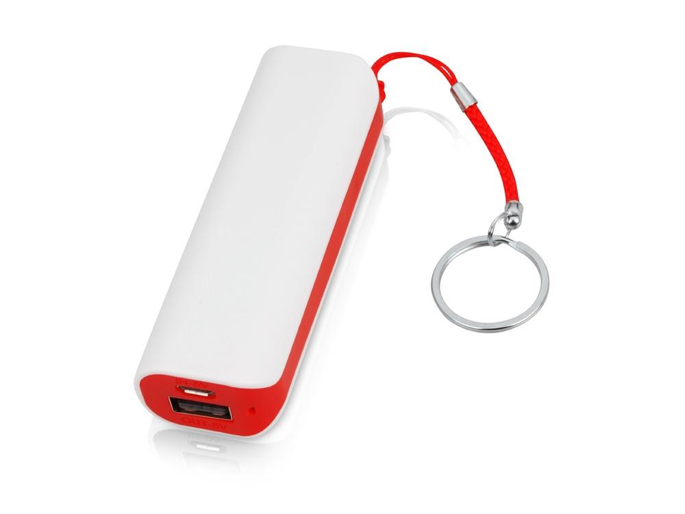 Портативное зарядное устройство (power bank) Basis, 2000 mAh, красный
