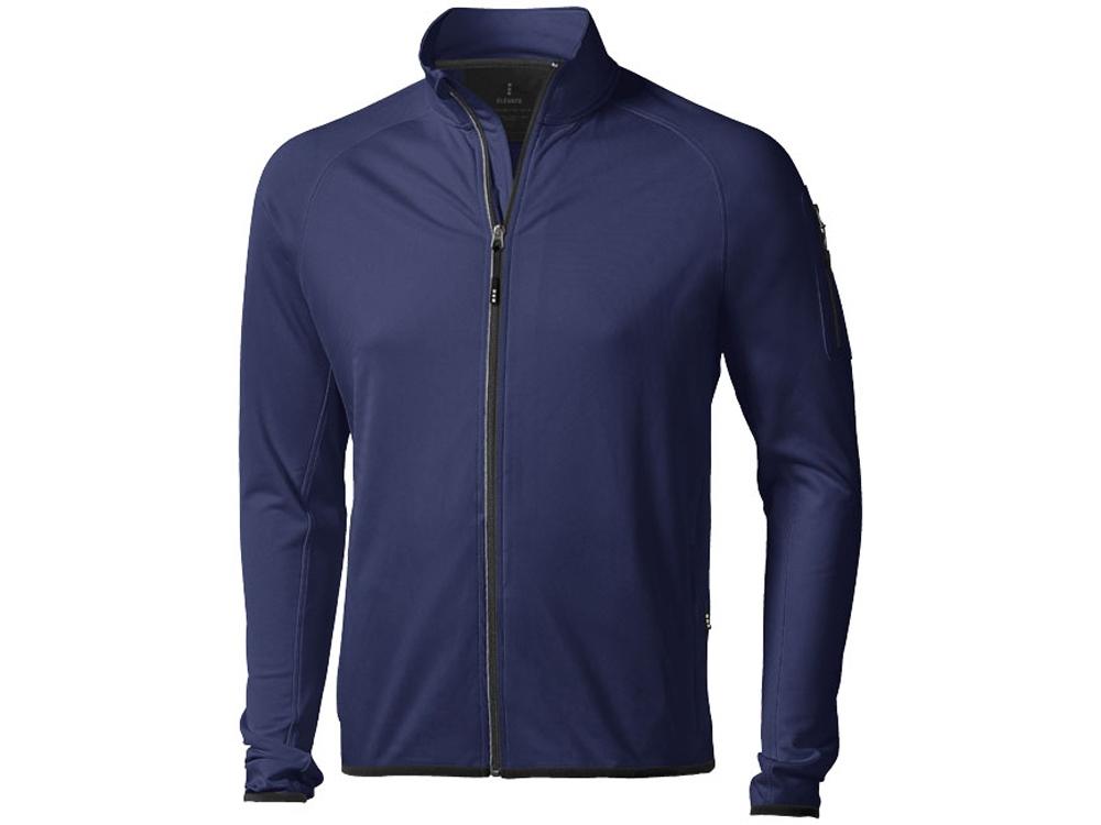 Куртка флисовая Mani мужская, темно-синий
