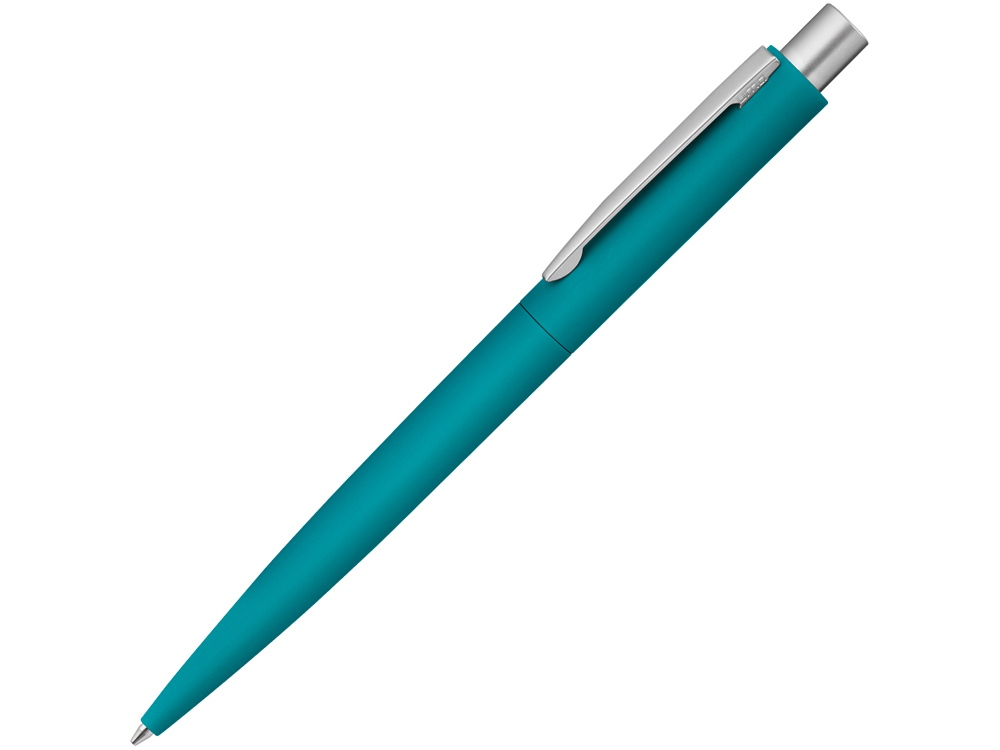 Ручка шариковая металлическая LUMOS GUM, морская волна