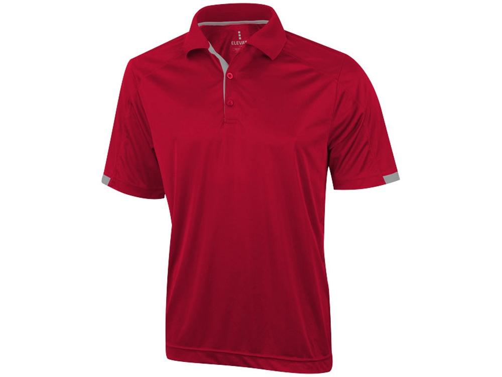Рубашка поло Kiso мужская, красный