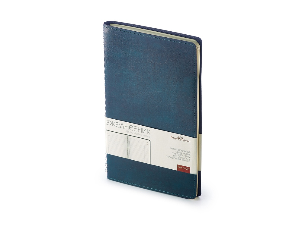 Ежедневник А5 недатированный Verona, синий
