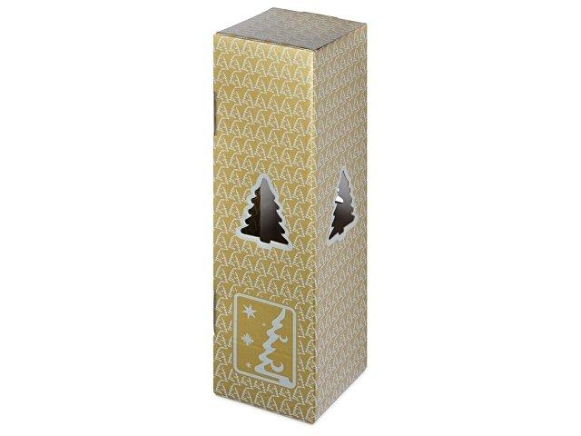 Новогодняя коробка для шампанского