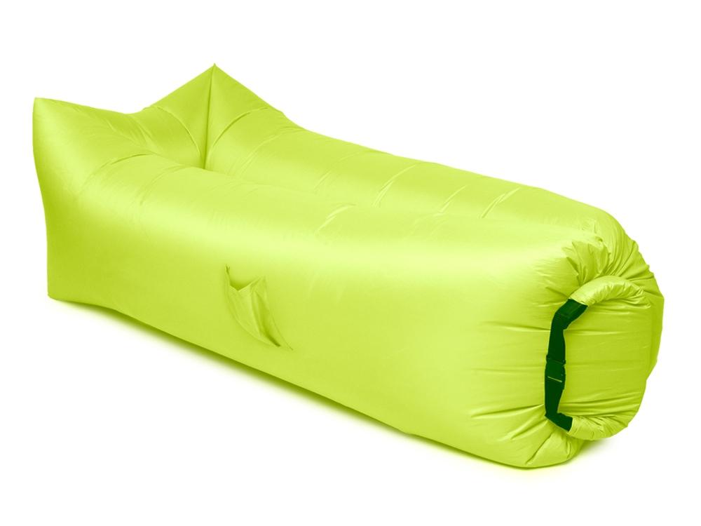 Надувной диван БИВАН 2.0, лимонный