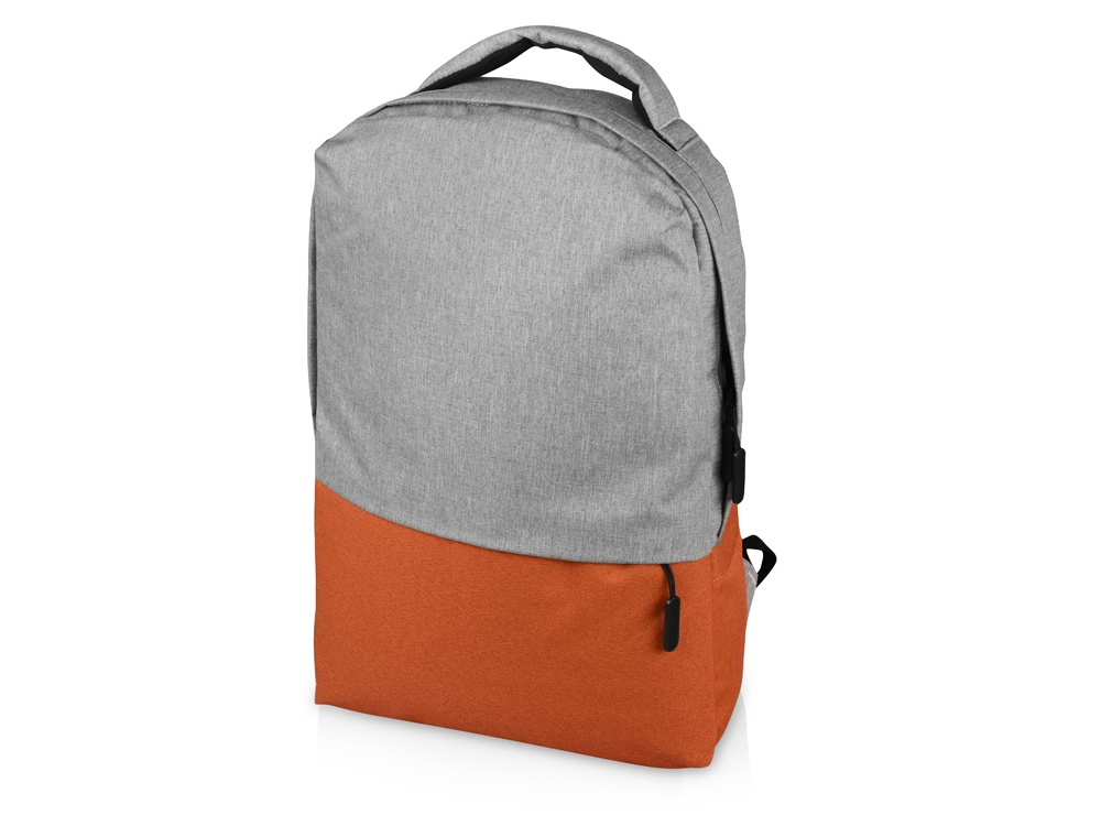 Рюкзак Fiji с отделением для ноутбука, серый/оранжевый