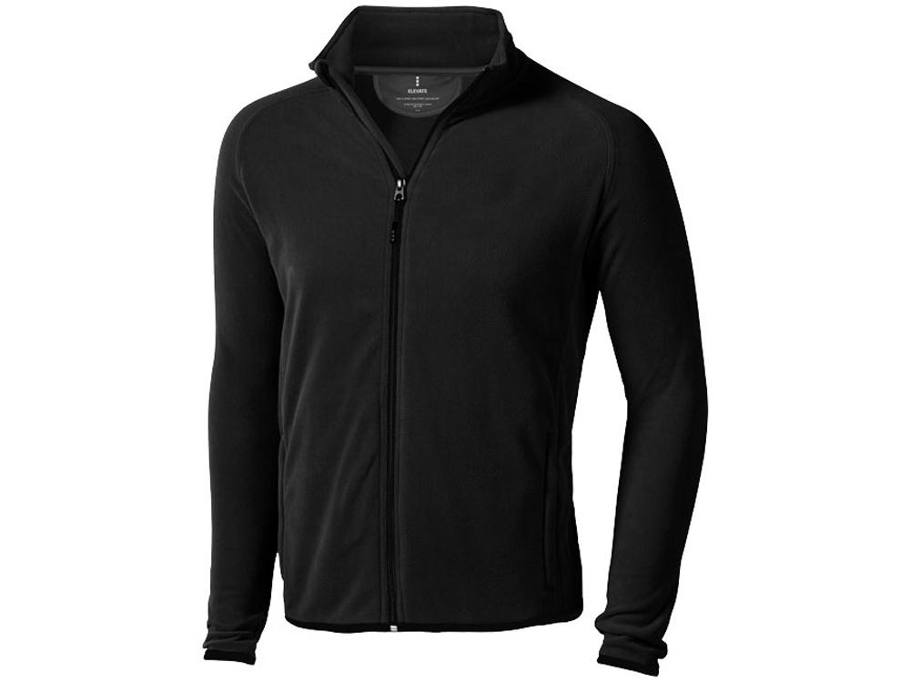 Куртка флисовая Brossard мужская, черный