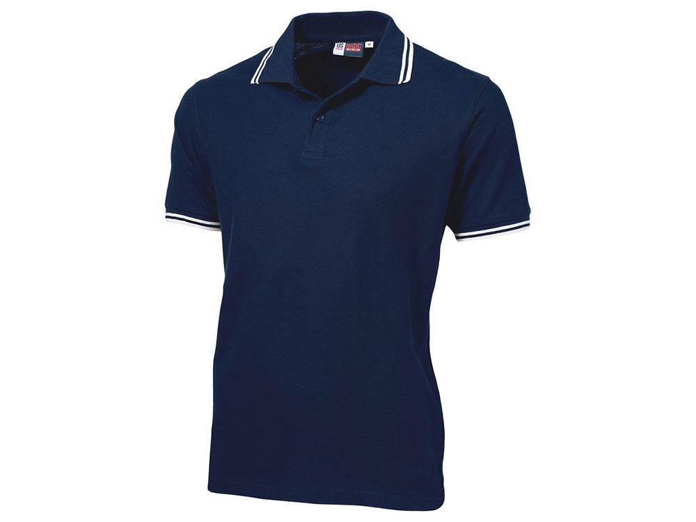 Рубашка поло Erie мужская, темно-синий