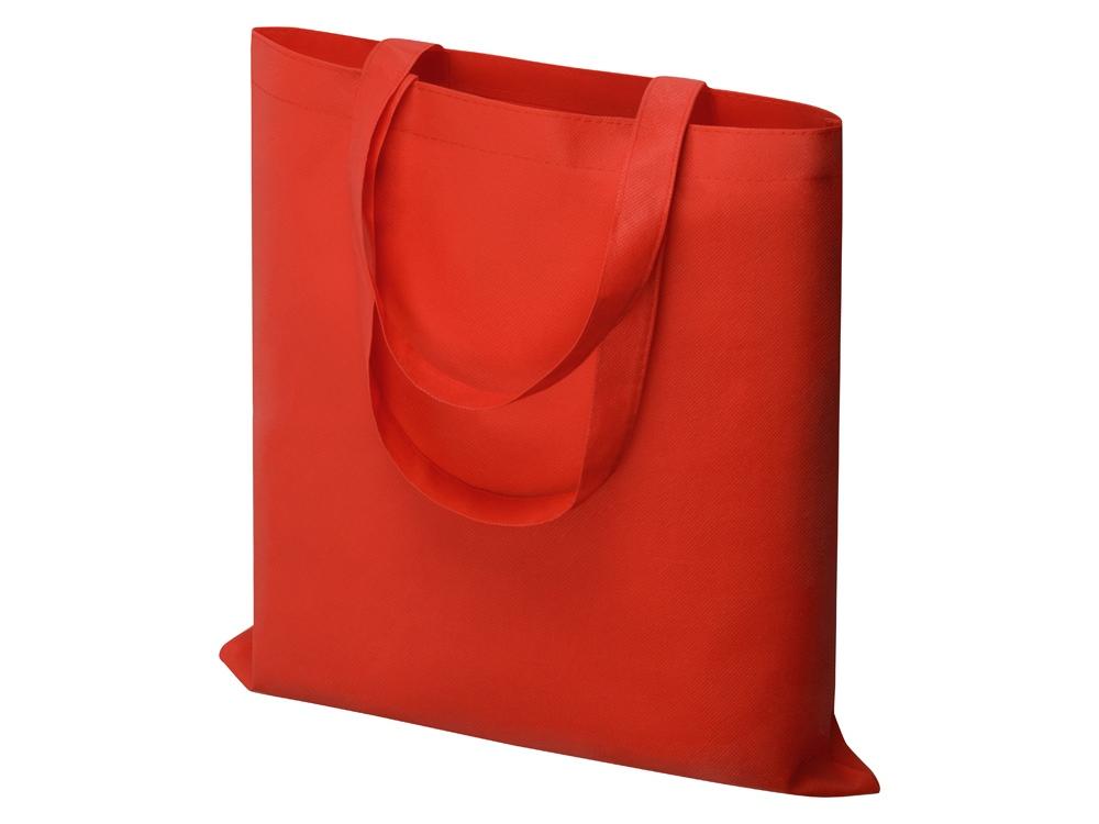 Небольшая нетканая сумка Zeus для конференций, красный