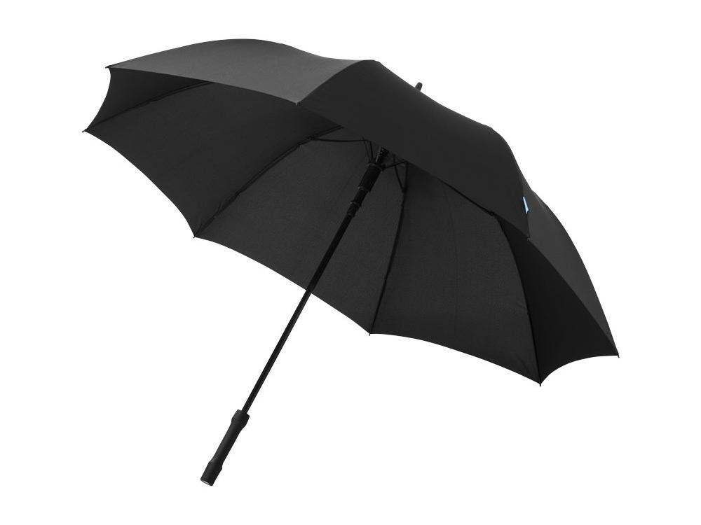 Зонт трость Rosari, полуавтомат 27, черный
