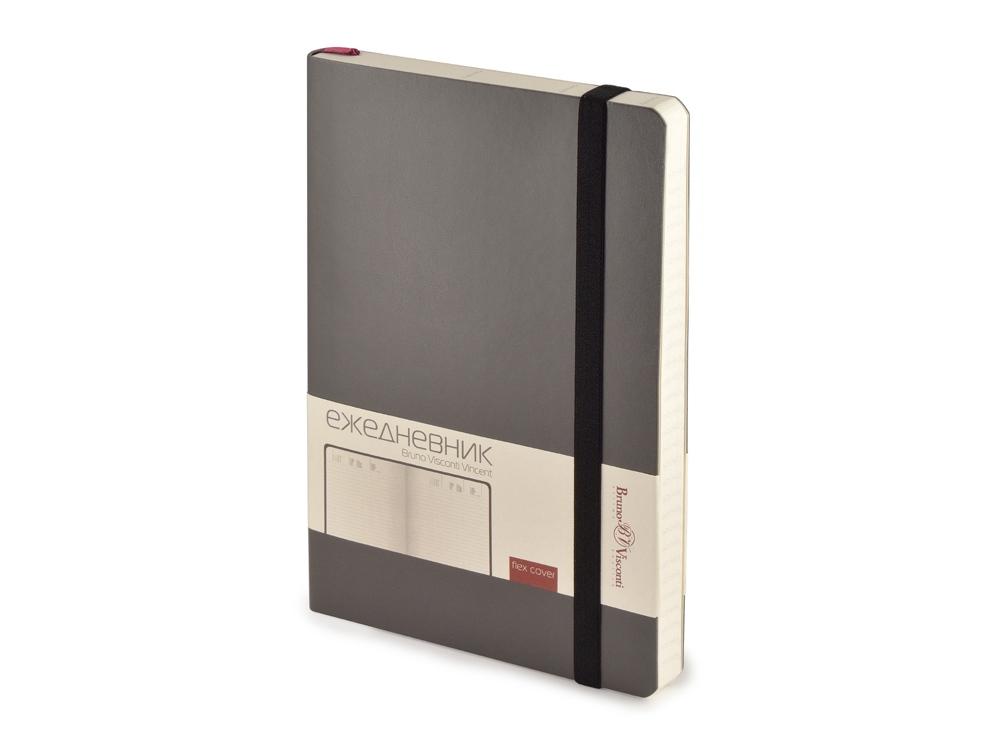 Ежедневник недатированный А5 Vincent, серый