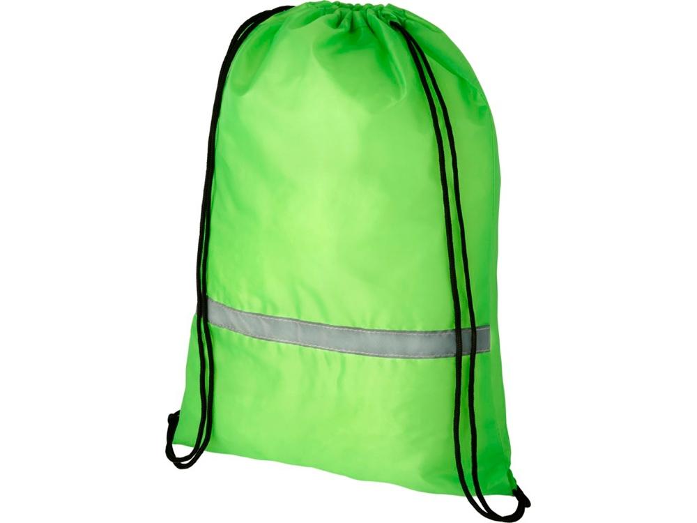 Защитный рюкзак Oriole со шнурком, зеленый