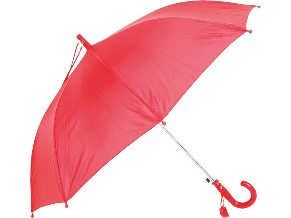 Зонт-трость детский полуавтоматический со свистком