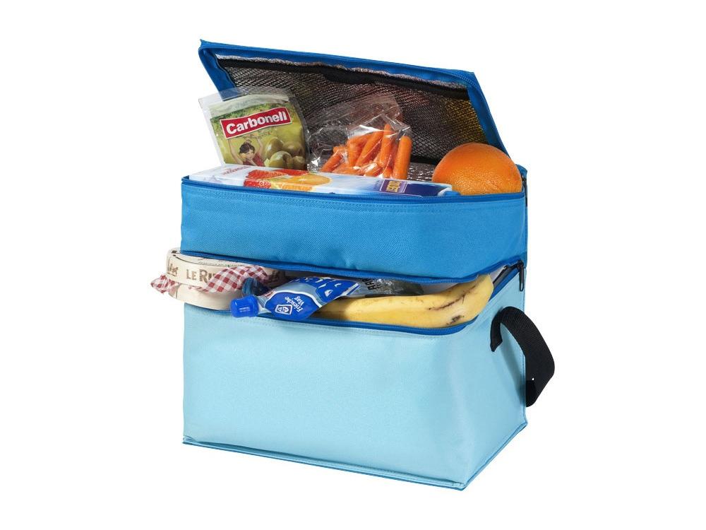 Сумка-холодильник Trias, синий/голубой/светло-голубой