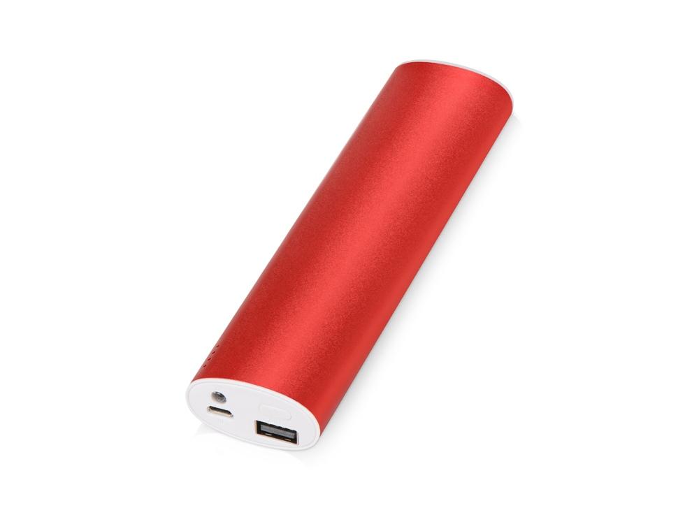 Портативное зарядное устройство Спайк, 8000 mAh, красный