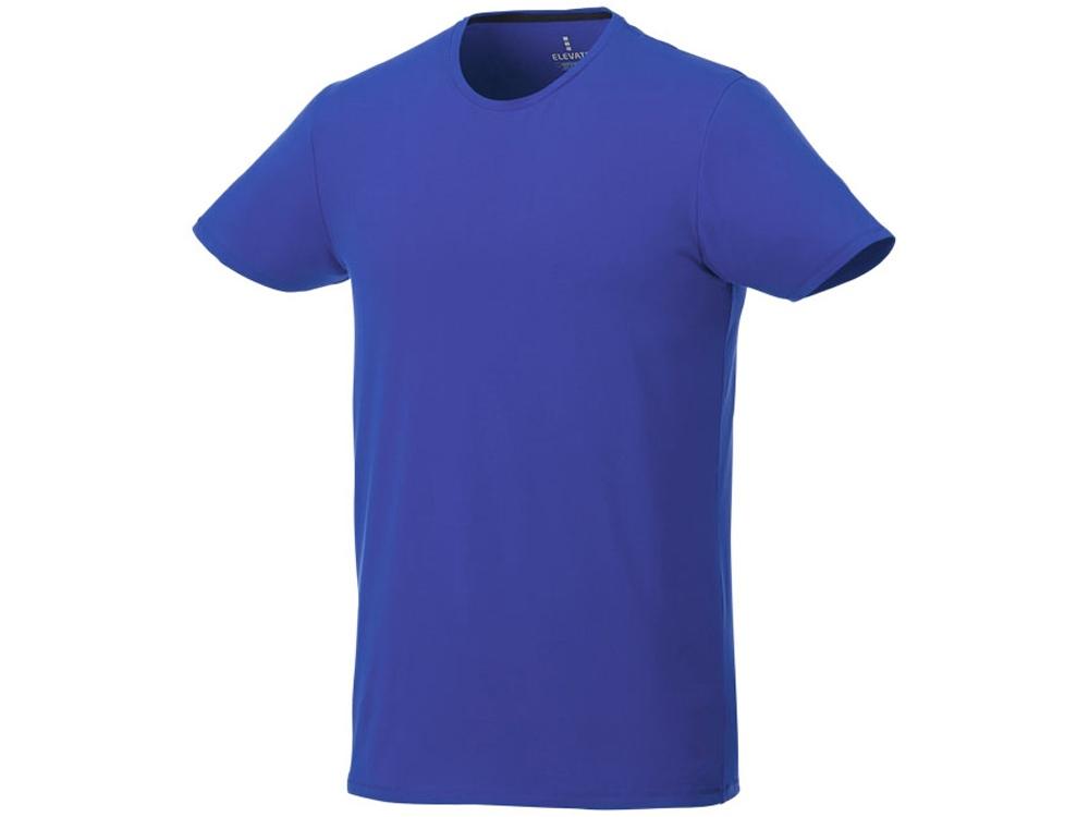 Мужская футболка Balfour с коротким рукавом из органического материала, синий