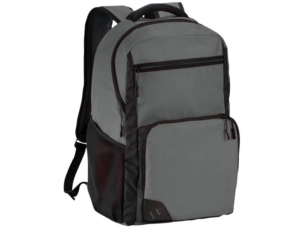 Рюкзак Rush для ноутбука 15,6 без ПВХ, серый/черный