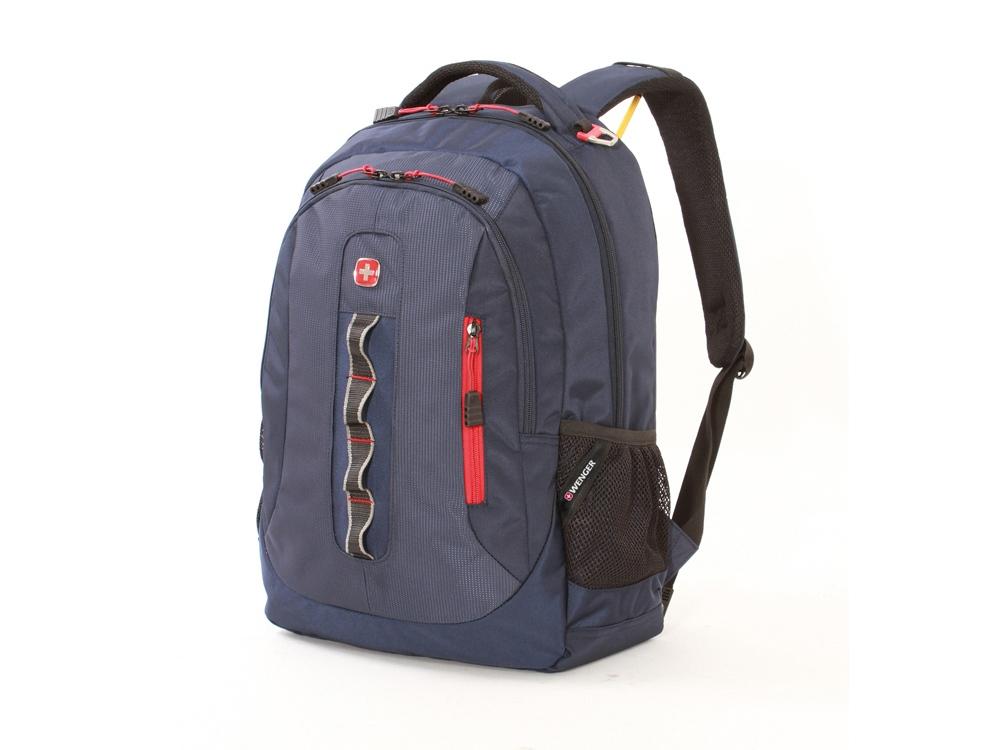 Рюкзак 28л с отделением для ноутбука 15''. Wenger, темно-синий