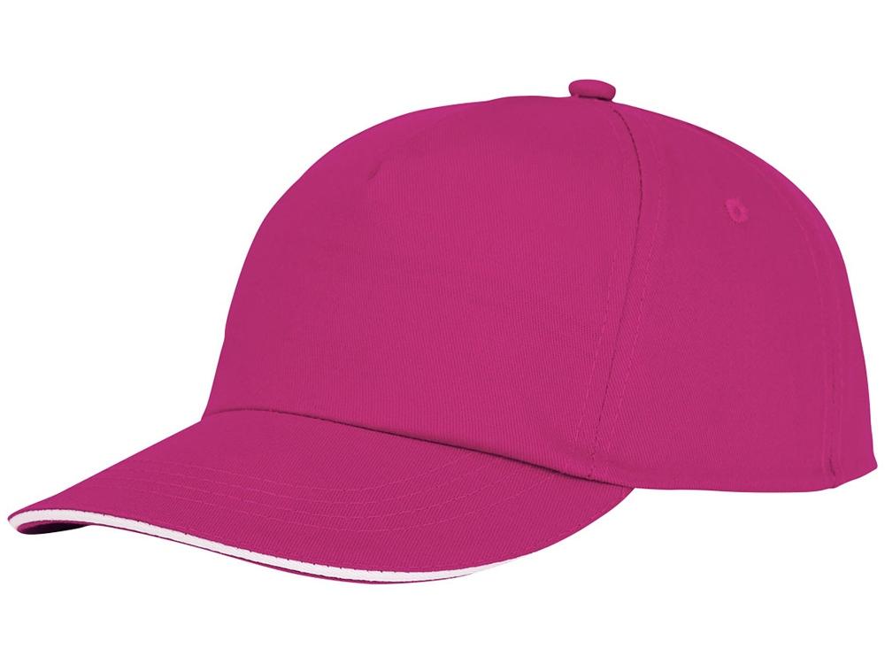 Пятипанельная кепка-сендвич Styx, розовый