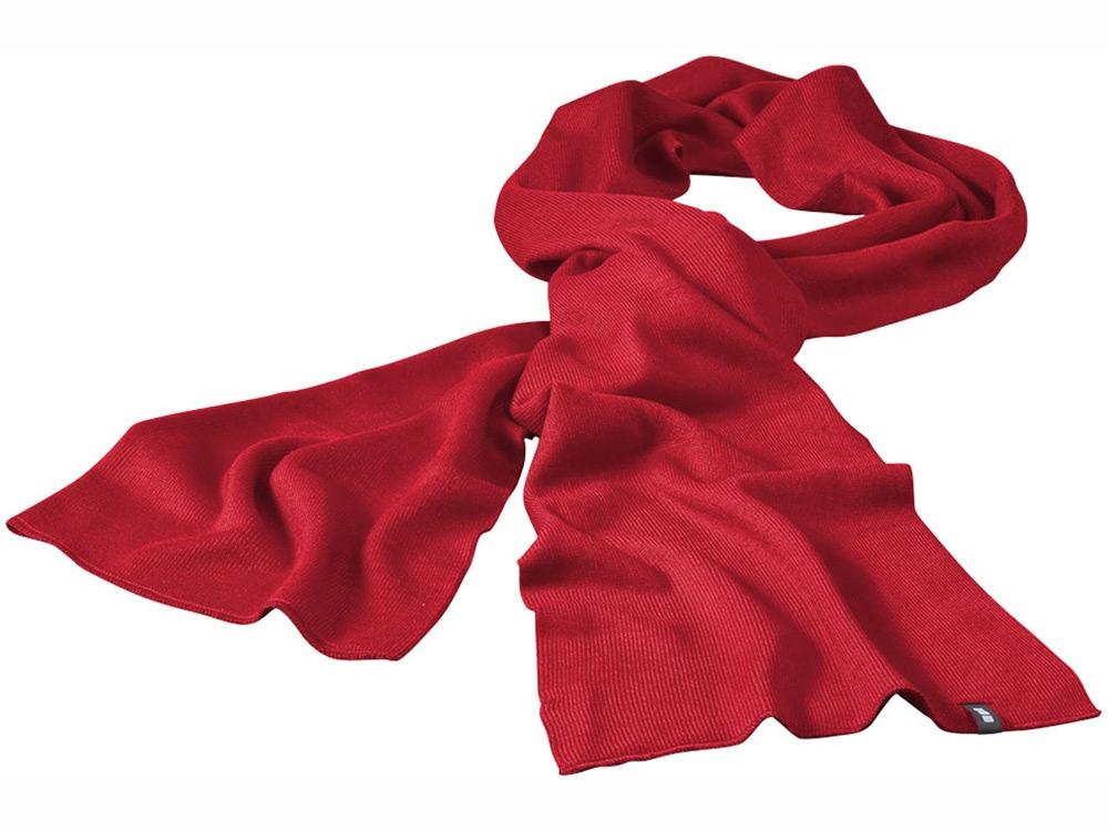 Шарф Mark красный