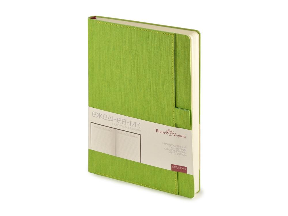 Ежедневник недатированный А5 Marseille, светло-зеленый