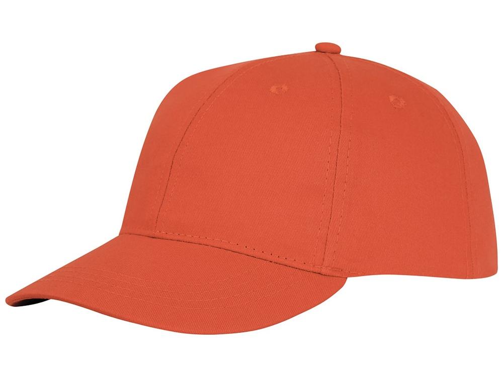 Шестипанельная кепка Ares, оранжевый