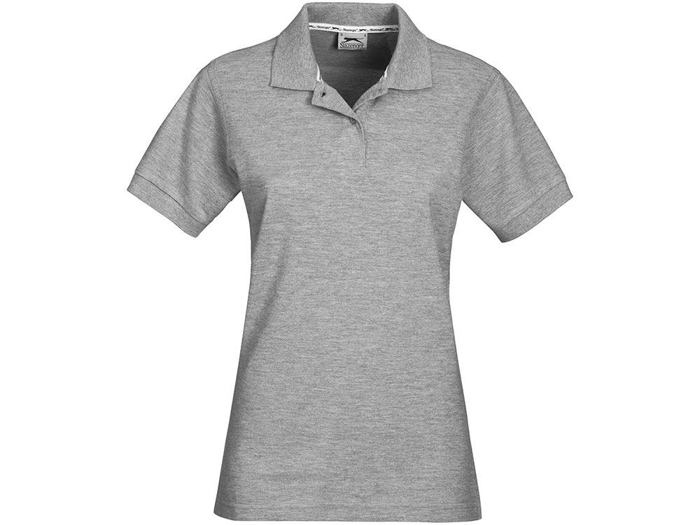 Рубашка поло Forehand женская, серый