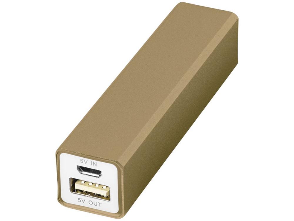 Портативное зарядное устройство Volt, золотистый