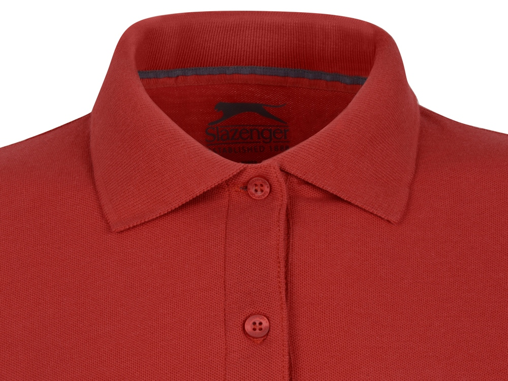 Рубашка поло Point женская с длинным рукавом, красный