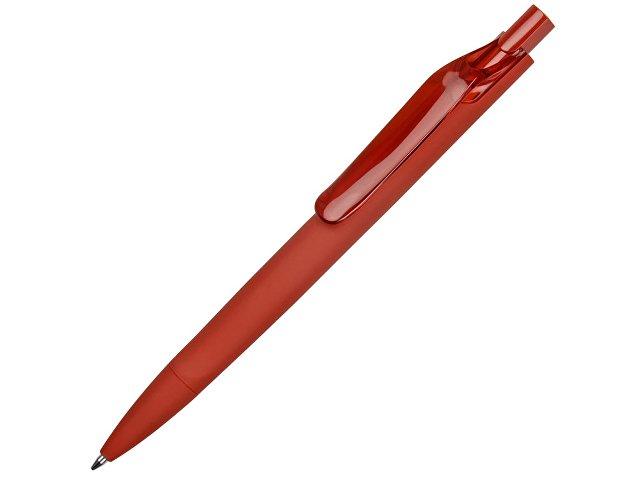 Ручка пластиковая шариковая Prodir DS6 PRR «софт-тач»