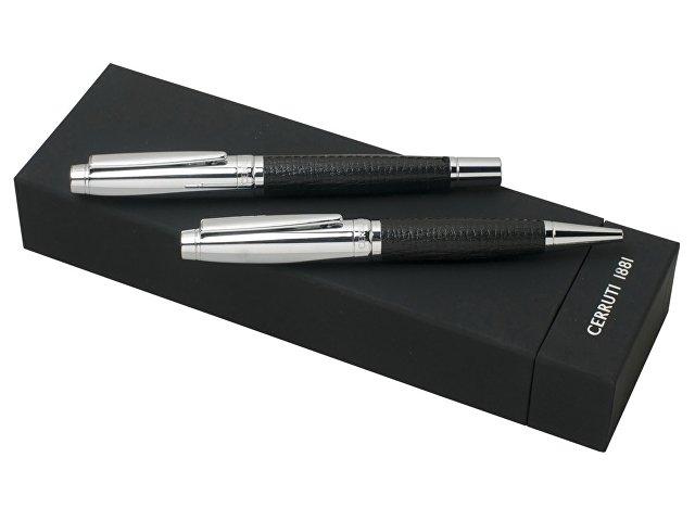 Подарочный набор HOLT: ручка шариковая, ручка-роллер. Cerruti 1881