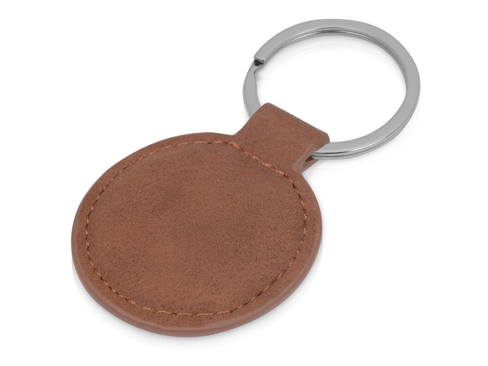 Брелок Alen круглый, коричневый