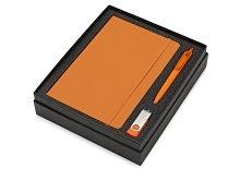 Подарочный набор Vision Pro Plus soft-touch с флешкой, ручкой и блокнотом А5 (арт. 700342.13)