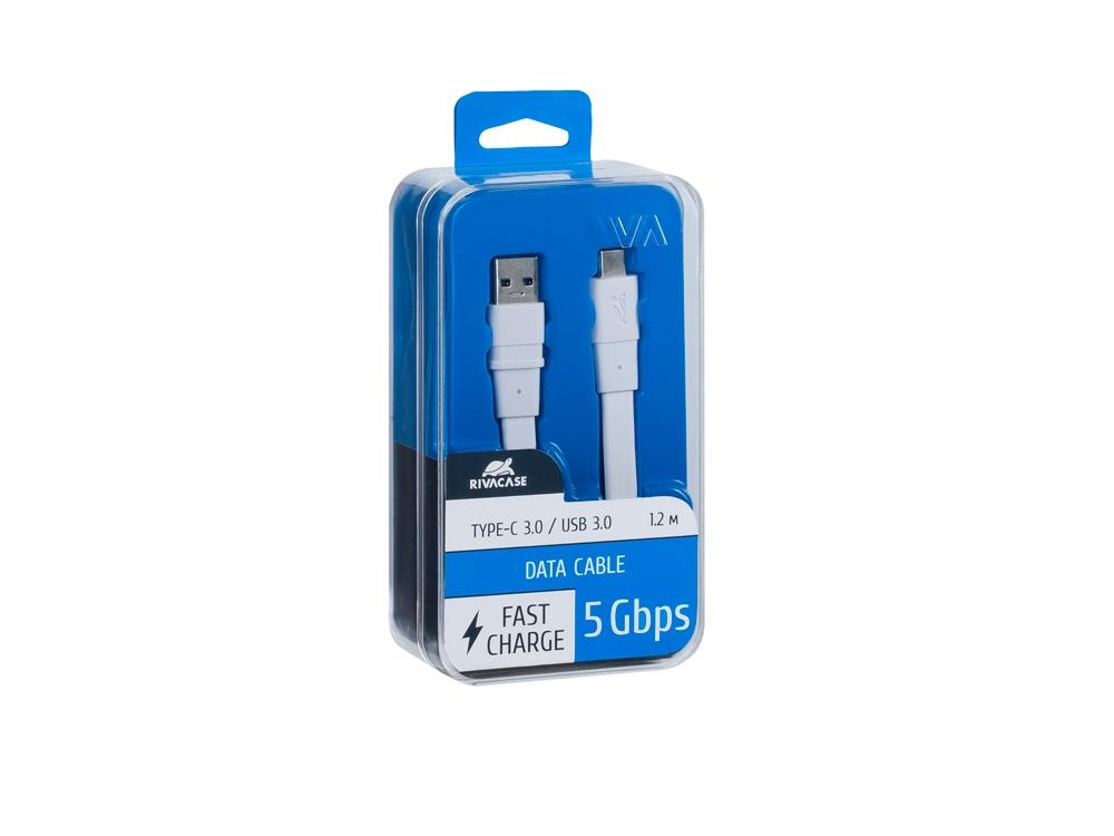 Кабель USB Type C 3.0 – Type A 1.2м WT12, белый