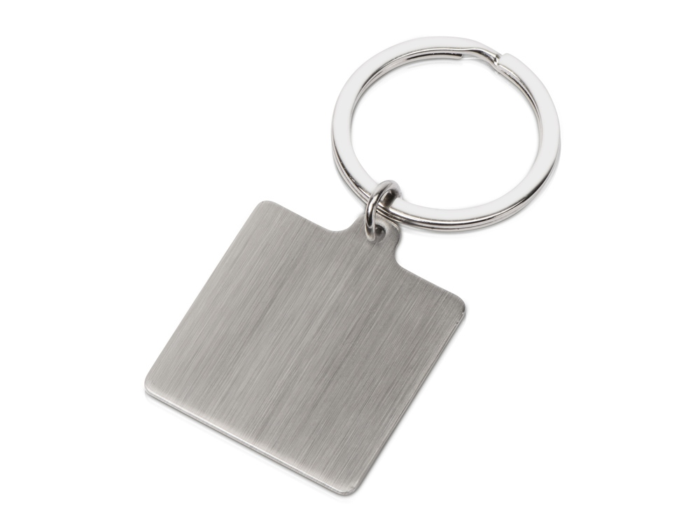 Брелок Steel SQR квадратный, серебристый