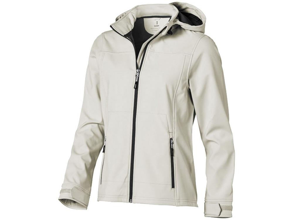 Куртка софтшел Langley женская, светло-серый