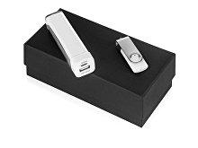 Подарочный набор Flashbank с флешкой и зарядным устройством (арт. 700305.06)