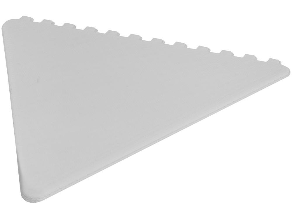 Треугольный скребок Frosty, белый