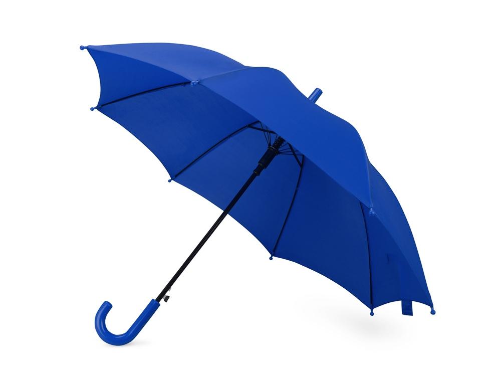 Зонт-трость Edison, полуавтомат, детский, синий