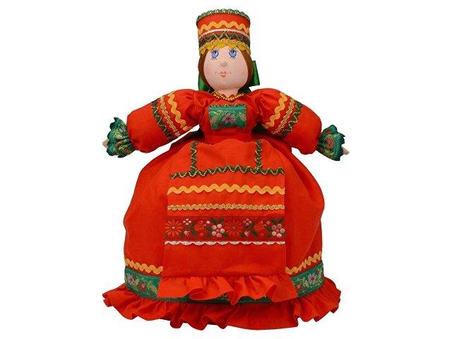 Подарочный набор «Кремлевский»: кукла на чайник, чайник заварной
