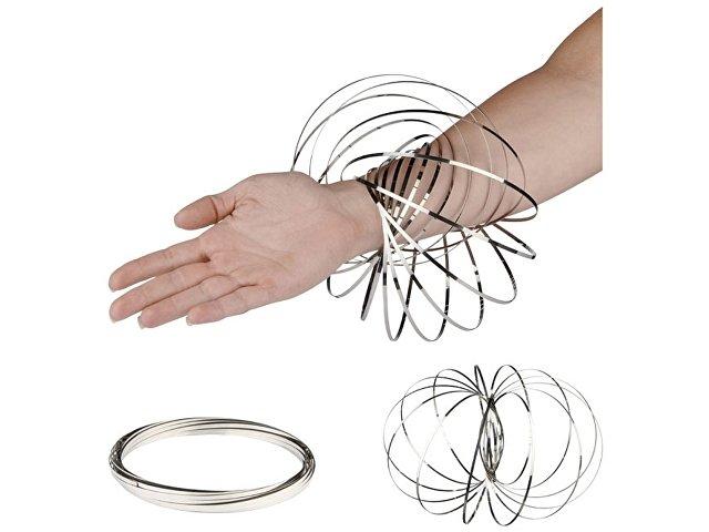 Кольцо для релаксации «Flow», серебристый