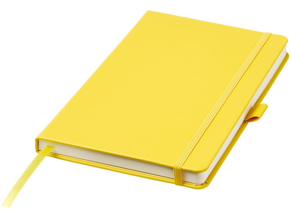 Записная книжка Nova форматаA5 с переплетом, желтый