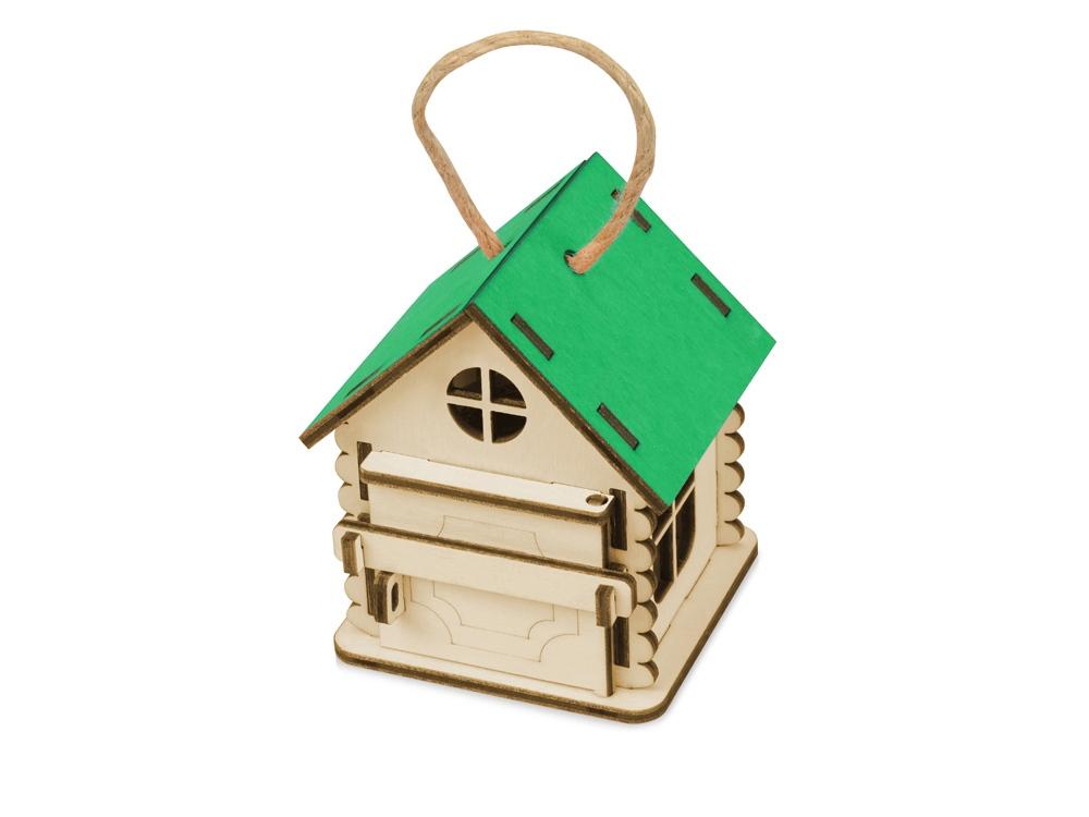 Игрушка Домик упаковка, зеленый