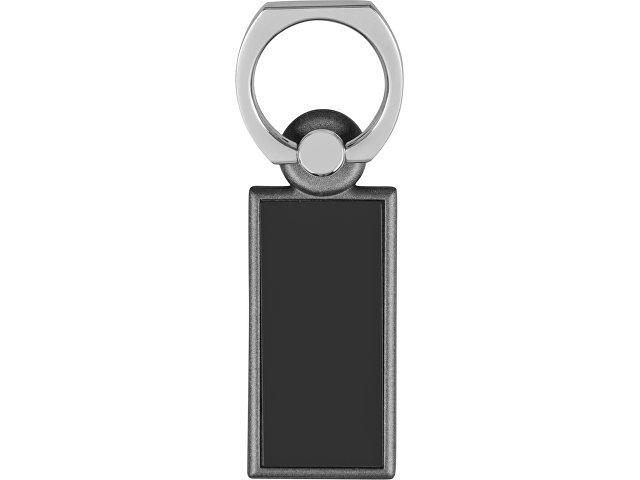 Набор «Slip»: визитница, держатель для телефона, серый/черный
