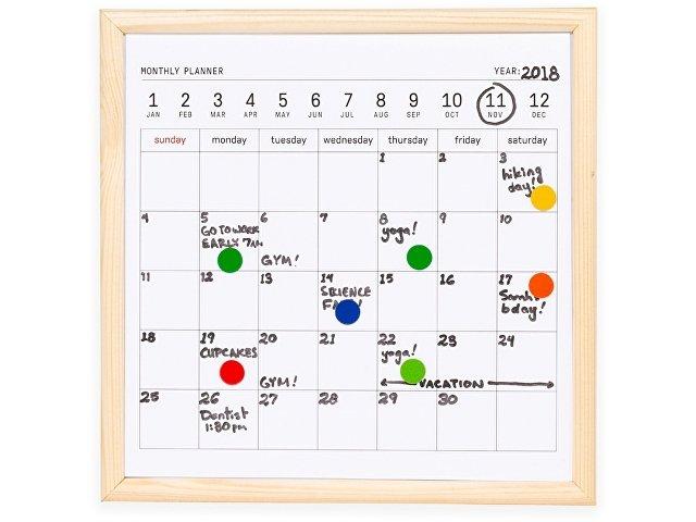 Календарь для заметок с маркером «Whiteboard calendar»