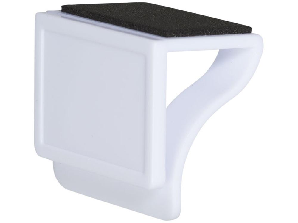 Блокировщик камеры с мягкой стороной, предназначенной для очистки монитора, белый
