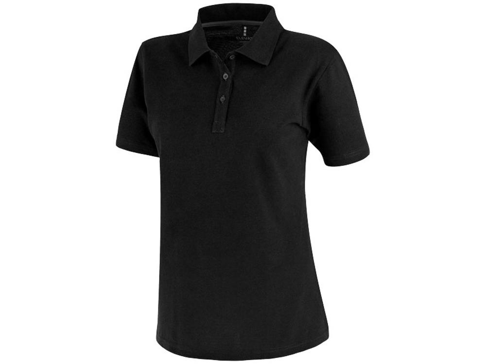 Рубашка поло Primus женская, черный