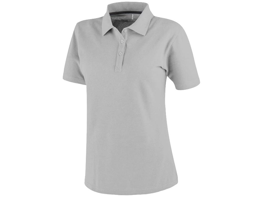 Рубашка поло Primus женская, серый меланж
