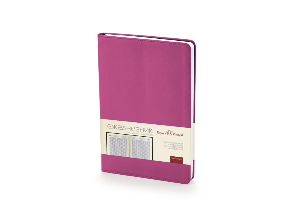Ежедневник недатированный А5 Stockholm, фиолетовый