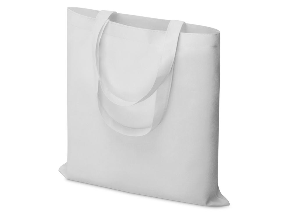 Небольшая нетканая сумка Zeus для конференций, белый