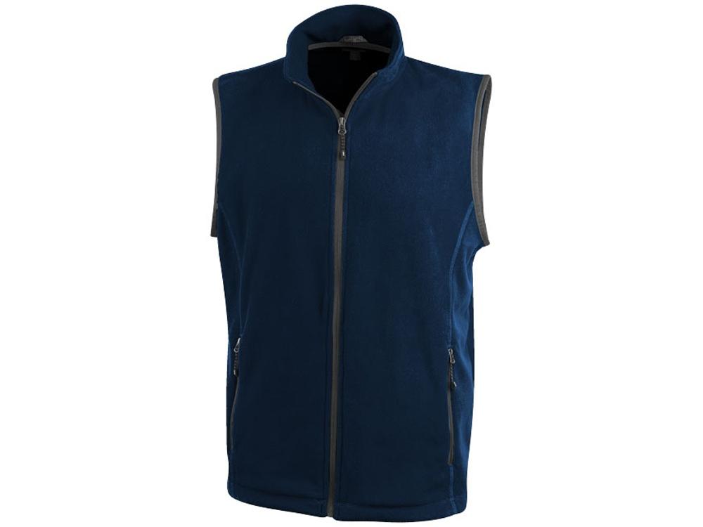 Жилет флисовый Tyndall мужской, темно-синий